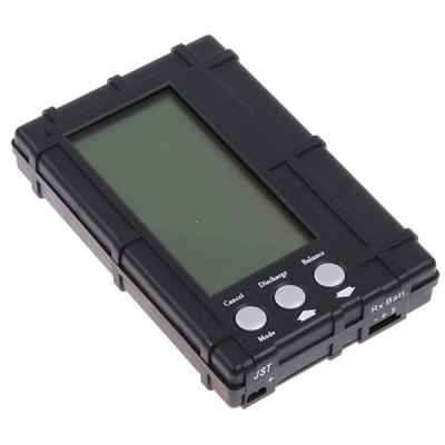 6 Cell RC 2S  -  6S LCD Li  -  Po Li  -  Fe Battery Voltage Meter Discharger 3 in 1 Battery Balancer