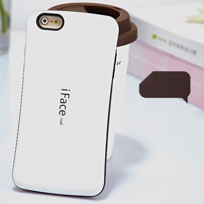 Гаджет   iFace mall Curve Design PC and TPU Material Back Case for iPhone 6  -  4.7 inches iPhone Cases/Covers