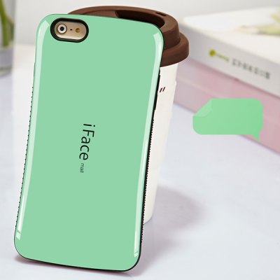 Гаджет   iFace mall Curve Design PC and TPU Material Back Case for iPhone 6  -  4.7 inches