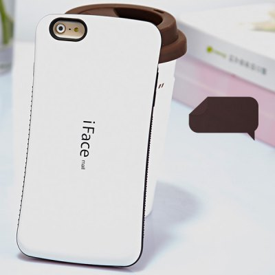 Гаджет   iFace mall Curve Design PC and TPU Material Back Case for iPhone 6 Plus  -  5.5 inches
