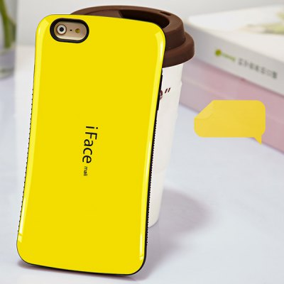 iFace mall PC and TPU Material Back Case for iPhone 6 Plus - 5.5 inches