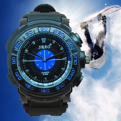 Гаджет   S - 495 Bright Color Sports Watch with Rubber Band Large Dial Men