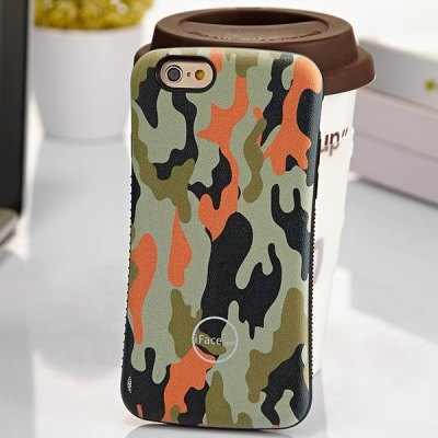 Гаджет   iFace mall Camouflage Pattern PC and TPU Material Back Case for iPhone 6 Plus  -  5.5 inches iPhone Cases/Covers