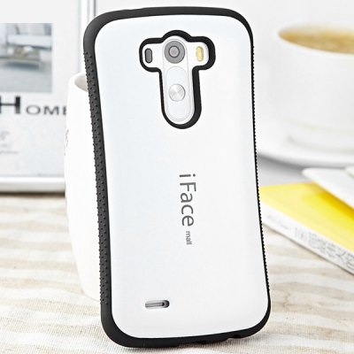 ФОТО iFace mall PC and TPU Material Back Case Cover for LG G3