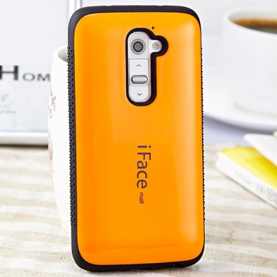 iFace mall PC and TPU Material Back Case Cover for LG G2