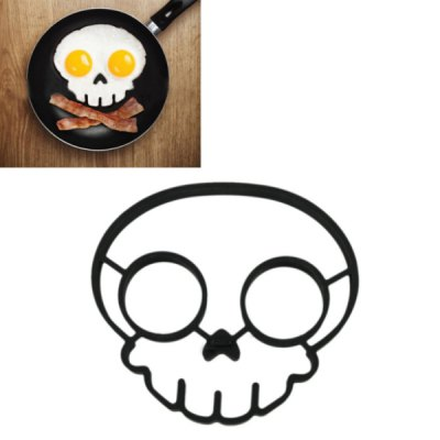 Silicone Skull Shape Style Egg Frying Mould