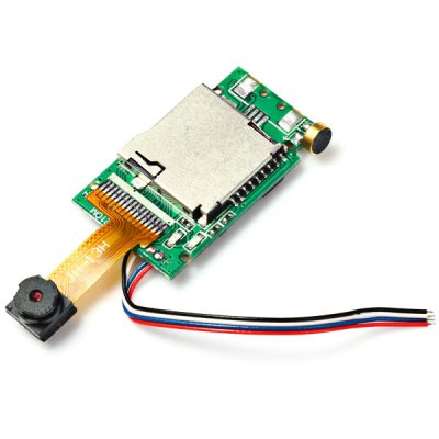 ФОТО HT F803C RC Quadcopter CCD Board Camera with 5mm Lens Spare Parts