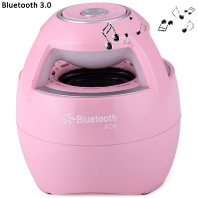 A05 Colorful Atmosphere Lighting Wireless Bluetooth 3.0 Speaker Built in Lithium Battery for MP3 MP4 Player PSP Computer etc.