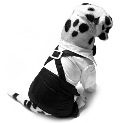 Formal Suit Style Dog Clothing