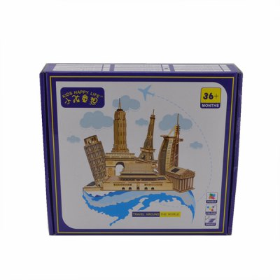 DIY Colored Drawing Assembly Yueyang Tower with Solar Sensation LED LightSolar Powered Toys<br>DIY Colored Drawing Assembly Yueyang Tower with Solar Sensation LED Light<br><br>Material: Latex<br>Package weight: 0.844 kg<br>Package size (L x W x H): 24.50 x 22.50 x 6.00 cm / 9.65 x 8.86 x 2.36 inches<br>Package Contents: 11 x Veneer, 1 x Solar Controller, 1x Bulb Line, 1x Sand Paper, 1 x Chinese-English Instruction, 1 x Colored Drawing Material, 1x Paintbrush, 1 x White Latex Adhesive, 1 x Package