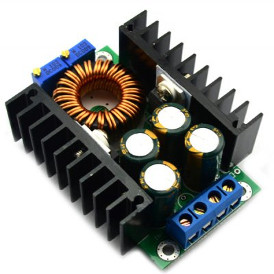 Full Function 12A 24V to 12V Adjustable Constant Current LED Drive Step Down Voltage Buck Power Supply Module for DIY