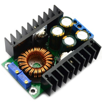 Гаджет   Full Function 12A 24V to 12V Adjustable Constant Current LED Drive Step Down Voltage Buck Power Supply Module for DIY Power