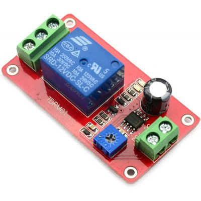 Full Function DC 12V Delay Relay Controller Module for Learners to DIY
