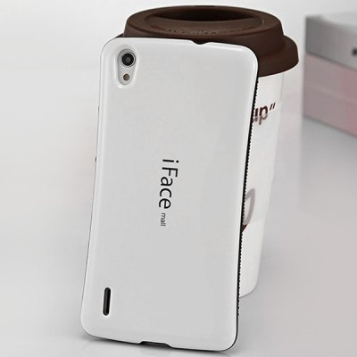 Гаджет   iFace mall Curve Design PC and TPU Material Back Case for Huawei Ascend P7 Other Cases/Covers