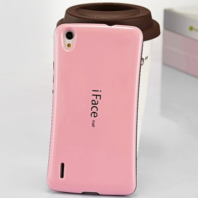 ФОТО iFace mall Curve Design PC and TPU Material Back Case for Huawei Ascend P7