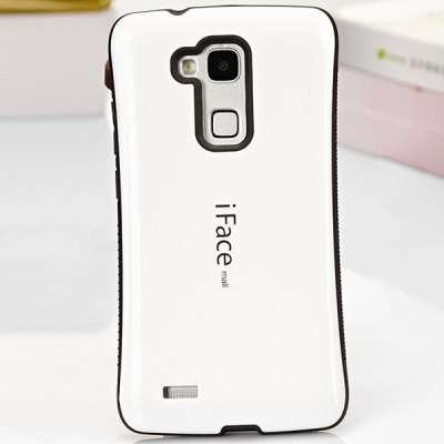 iFace mall Curve Design PC and TPU Material Back Case for Huawei Mate 7