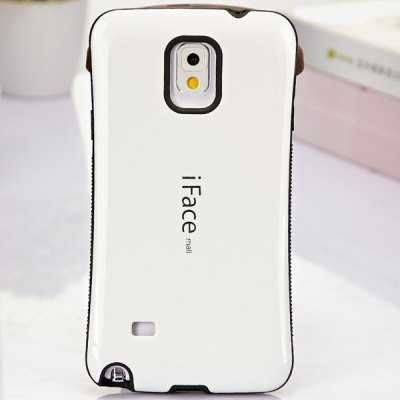 ФОТО iFace mall Curve Design PC and TPU Material Back Case for Samsung Galaxy Note 4 N9100