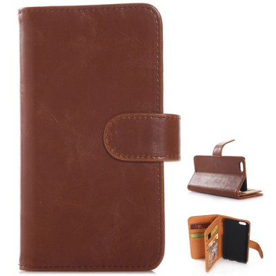 Гаджет   Built - in Horizontal Flip Wallet PU and PC Material Cover Case for iPhone 6  -  4.7 inches iPhone Cases/Covers
