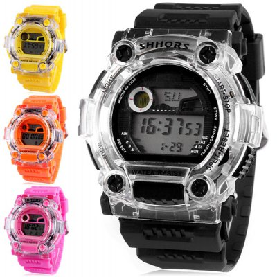 Shhors 750 LED Sports Military Watch
