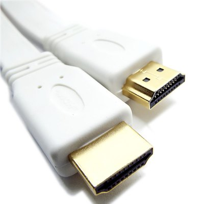 Full Function HDMI 1.4 Male to Male Extension Flat Cord for DVD HDTV Game Console
