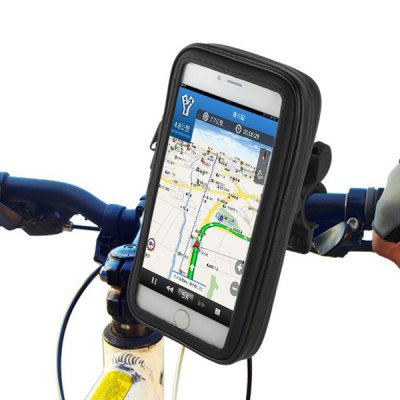 Water Resistant 7.2 inch Bicycle Motorcycle Bag Holder Bike Handlebar Pack for iPad Mini