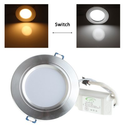 LUO 10W 20 SMD 5730 800Lm Dimmable White Light LED Ceiling Lamp