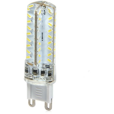 3.3W G9 270Lm SMD 3014 72 LEDs Dimmable Slim Silicone LED Corn Light Lamp   -  6000K AC 230V