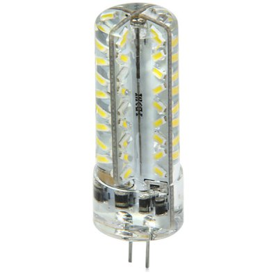 G4 3.3W 72 SMD 3014 270Lm 6000K Dimmable Silicone LED Corn Bulb