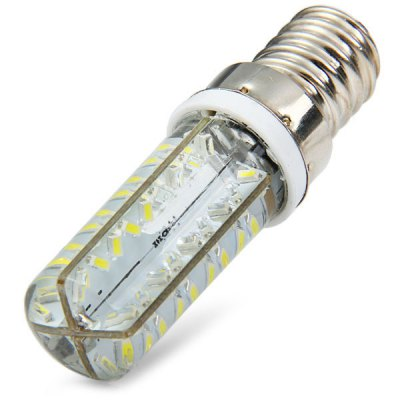 Гаджет   E14 3.3W 72 x SMD 3014 270Lm 6000K 110V Dimmable Slim Silicone LED Corn Light LED Light Bulbs