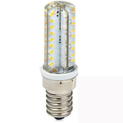 Гаджет   E14 3.3W 72 x SMD 3014 270Lm 3000K Dimmable Slim Silicone LED Corn Light LED Light Bulbs