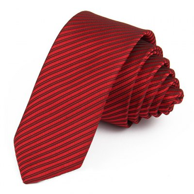 Chic Twill Pattern and 5 CM Wide Design Tie For Men