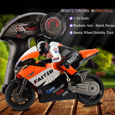 JXD 806 1 / 16 Scale 2.4G Remote Radio Control Motorcycle Motorbike