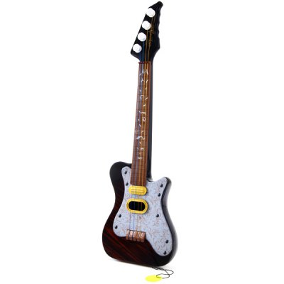 Fashionable Electric Guitar Pattern Guitar Toy with Plastic Material for KidsKids Musical Instrument<br>Fashionable Electric Guitar Pattern Guitar Toy with Plastic Material for Kids<br><br>Type: Intelligence toys<br>Age: 3 Years+<br>Material: ABS<br>Product Weight   : 0.119 kg<br>Package Weight   : 0.33 kg<br>Product Size (L x W x H)   : 41 x 13.5 x 3 cm / 16.14 x 5.31 x 1.18 inches<br>Package Size (L x W x H)  : 47 x 15 x 5.5 cm<br>Package Contents: 1 x Guitar Toy
