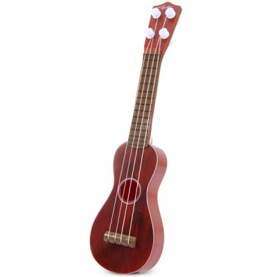 ФОТО Fashionable Classical Guitar Pattern Guitar Toy with Plastic Material for Kids