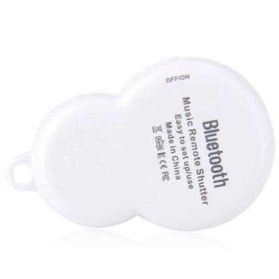 Гаджет   Portable Mini Wireless Bluetooth Music Camera Remote Shutter for iOS Android Home Gadgets