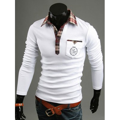 Stylish Shirt Collar Slimming Pocket Design Long Sleeve Polyester Polo Shirt For MenMens Long Sleeves Tees<br>Stylish Shirt Collar Slimming Pocket Design Long Sleeve Polyester Polo Shirt For Men<br><br>Material: Polyester<br>Sleeve Length: Full<br>Collar: Turn-down Collar<br>Style: Fashion<br>Weight: 0.350KG<br>Package Contents: 1 x Polo Shirt<br>Embellishment: Pockets<br>Pattern Type: Patchwork