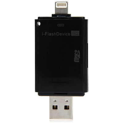 IP  -  296 8pin TF Card Reader OTG USB 2.0 For IPhone 6 / 6 Plus IPhon