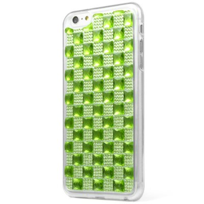TPU Material Big Grid Diamante Back Cover Case for iPhone 6  -  4.7 inchesiPhone Cases/Covers<br>TPU Material Big Grid Diamante Back Cover Case for iPhone 6  -  4.7 inches<br><br>Compatible for Apple: iPhone 6<br>Features: Back Cover<br>Material: TPU<br>Style: Special Design<br>Color: Silver, Red, Rose gold, Blue, Green, Purple, Black, Gold, Pink<br>Product weight : 0.025 kg<br>Package weight : 0.045 kg<br>Product size (L x W x H): 13.9 x 6.7 x 0.8 cm / 5.5 x 2.6 x 0.3 inches<br>Package contents: 1 x Case