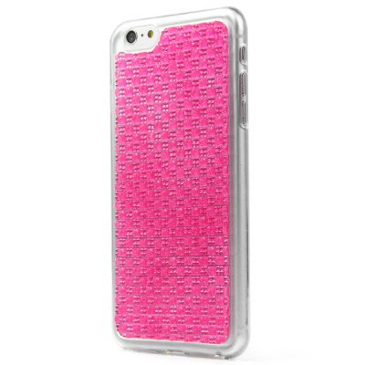 Гаджет   TPU Material Small Grid Diamante Back Cover Case for iPhone 6  -  4.7 inches iPhone Cases/Covers