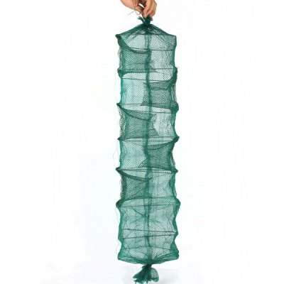 Foldable 1m Eel Trap Cast Net Portable Fish Cage Eel - buck