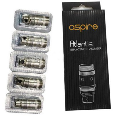 5pcs Genuine Aspire Atlantis E-Cigarette Heater Core