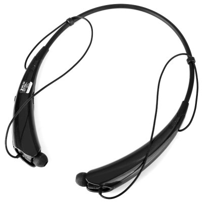 Гаджет   HBS - 760 Neckband Style Wireless Bluetooth Earphone In - ear Earbuds Design Stereo Headset with Mic and Volume Control iPhone Headsets