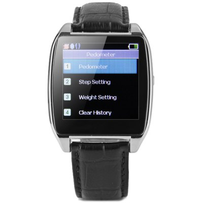 ФОТО iWATCH D6S Smart Bluetooth 4.0 Watch Message Dialer Anti - lost