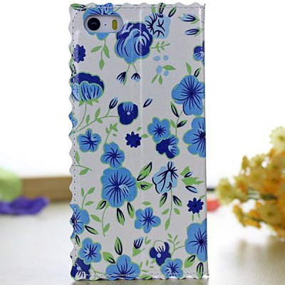 Flower Pattern PC and PU Material Stand Design Cover Case for iPhone 5 5SiPhone Cases/Covers<br>Flower Pattern PC and PU Material Stand Design Cover Case for iPhone 5 5S<br><br>Compatible for Apple: iPhone 5/5S<br>Features: Full Body Cases, Cases with Stand<br>Material: PU Leather, Plastic<br>Style: Floral<br>Color: Light Red, Sky blue, White, Light Purple, Lake blue, Pink, Light blue, Red, Dark blue, Blue, off-white, Green, Black<br>Product weight : 0.046 kg<br>Package weight : 0.100 KG<br>Product size (L x W x H): 13 x 6.7 x 1.4 cm/ 5.11 x 2.63 x 0.55inches<br>Package size (L x W x H) : 20 x 10 x 2 cm/ 7.86 x 3.93 x 0.79inches<br>Package contents: 1 x Case