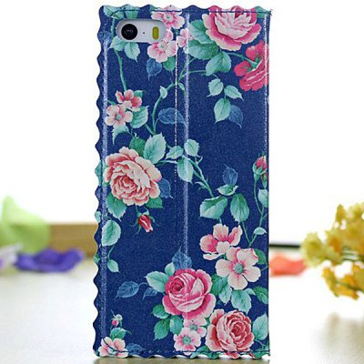 Flower Pattern PC and PU Material Stand Design Cover Case for iPhone 5 5SiPhone Cases/Covers<br>Flower Pattern PC and PU Material Stand Design Cover Case for iPhone 5 5S<br><br>Compatible for Apple: iPhone 5/5S<br>Features: Full Body Cases, Cases with Stand<br>Material: PU Leather, Plastic<br>Style: Floral<br>Color: Light blue, Red, Dark blue, Blue, off-white, Green, Black, Light Red, Sky blue, White, Light Purple, Lake blue, Pink<br>Product weight : 0.046 kg<br>Package weight : 0.100 KG<br>Product size (L x W x H): 13 x 6.7 x 1.4 cm/ 5.11 x 2.63 x 0.55inches<br>Package size (L x W x H) : 20 x 10 x 2 cm/ 7.86 x 3.93 x 0.79inches<br>Package contents: 1 x Case