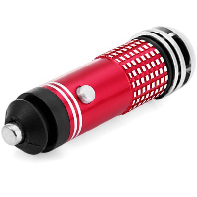 Car Charger Style Minus - Ion Air PurifierCar Decorations<br>Car Charger Style Minus - Ion Air Purifier<br><br>Features: Portable, Durable<br>Functions: Environmental friendly<br>Color  : Black, Red<br>Special function  : Air Purifier<br>Product weight   : 0.030 kg<br>Package weight   : 0.080 kg<br>Product size (L x W x H)  : 8 x 2.5 x 2.5 cm / 3.14 x 0.9 x 0.9 inches<br>Package size (L x W x H)  : 20 x 13 x 4 cm<br>Package contents: 1 x Minus-Ion Air Purifier