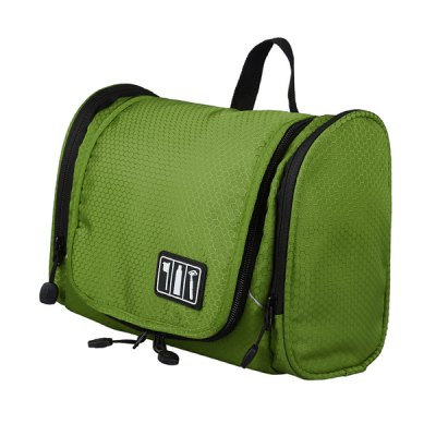 Utility Folding Sundries Storage Bag Multi - pocket Cosmetic Pouch Travel Cmaping Hiking Gadgets