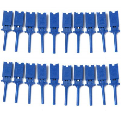JL1454 PCB SMD IC Compatible Plastic Multimeter Flat Test Clips Grabbers for DIY  -  20PCS