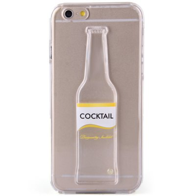 Гаджет   Bottle Design Transparent PC Material Back Case for iPhone 6  -  4.7 inches iPhone Cases/Covers