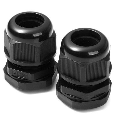 Full Function PG21 Plastic Water Resistant 13  -  18mm Cable Glands for DIY  -  2PCSDIY Parts &amp; Components<br>Full Function PG21 Plastic Water Resistant 13  -  18mm Cable Glands for DIY  -  2PCS<br><br>Material: Nylon PA66<br>Product Weight: 0.055 kg<br>Package Weight: 0.095 KG<br>Product Size(L x W x H): 5.2  x 3.6 x 3.6 cm/ 2.04 x 1.41 x 1.41inches<br>Package Size(L x W x H): 11.0  x 8.0 x 4.0 cm/ 4.32 x 3.14 x 1.57inches<br>Package Contents: 2 x DIY PG21 Plastic Water Resistant 13-18mm Cable Glands